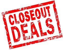 Closeout Apparel & Uniforms