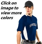 Champro Clean-Up Two Button Baseball Jersey