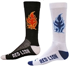 Red Lion  Fire Crew Socks