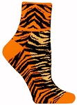 Red Lion Tiger Stripe Quarter Socks