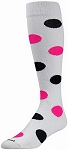 Clearance Twin City Light Weight Polka Dot Knee High Socks