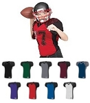 Augusta Zone Play Football Jersey