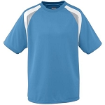 Clearance Columbia Blue Augusta Wicking Mesh Tri-Color Jersey