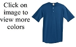 Augusta Two Button Baseball Jersey