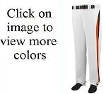 Augusta 14 oz Line Drive Baseball Pants (open bottom)