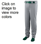 Augusta  11 oz. Series Baseball Pant (open bottom)