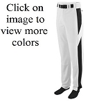Augusta 11 oz Series Color Block Baseball Pants (open bottom)