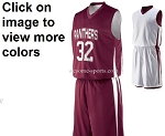 Augusta Reversible Wicking Basketball Uniforms Jersey and Short