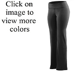 Augusta Wide Waist Poly/Spandex Pants Ladies/Girls