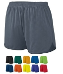 Augusta Solid Split Running Shorts