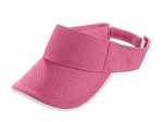 Augusta Pink Athletic Mesh Two Color Visor