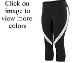 Augusta Action Color Block Capri Ladies/Girls