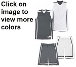 Badger B-Line Reversible Basketball Uniforms Jersey and Short