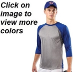 Champro Extra Innings 3/4 Sleeve Shirt