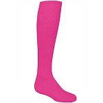 High Five Knee High Pink Tube Sports Socks