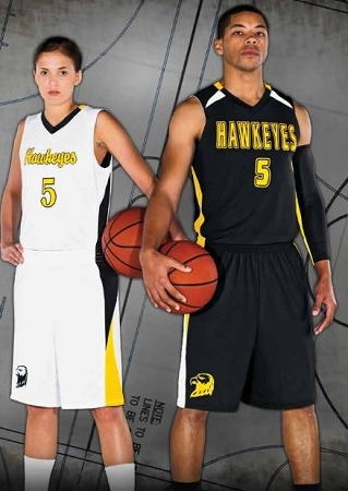 Reversible Basketball Uniforms - High Five Campus Reversible Jersey and  Shorts 3bc4fdffa
