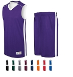 High Five Competition Reversible Basketball Uniforms Jersey and Short