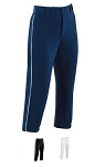 High Five Piped Prostyle Low-Rise Softball Pants-CLOSEOUT