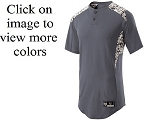 Holloway Bullpen Camo Baseball Jersey