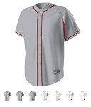 Holloway Ignite Faux Full Button Baseball Jersey
