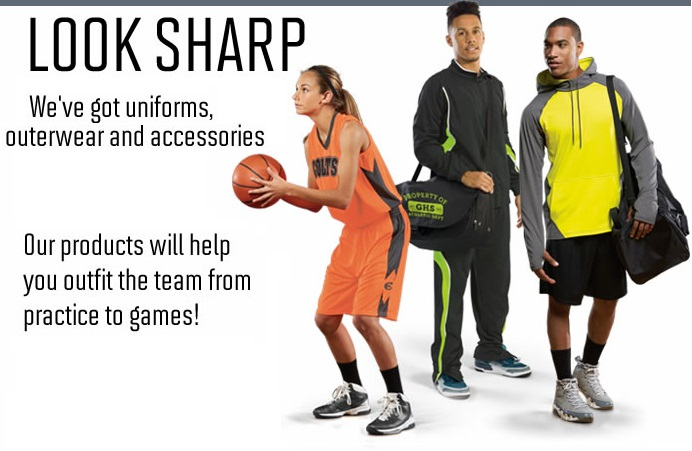 Team Uniforms, Jerseys, Shorts and Socks