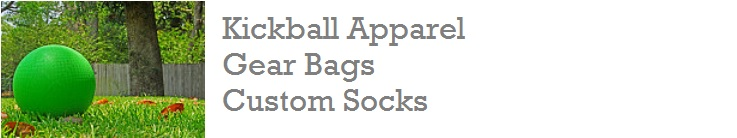Kickball Apparel, Kickball Custom Socks, Kickball Socks