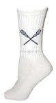 Lacrosse Custom Crew Socks by Pearsox (PCLAX)