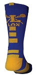 Pearsox Custom Lacrosse Bolt Crew Socks (2023PC)