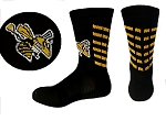 Custom Lacrosse Crew Socks (#1016BE)  by Pearsox