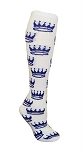 Pearsox Custom Knee High Pointed Crown Socks (PCCRWQ)