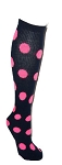 Pearsox Custom Polka Dot Knee High Socks (2008SC)