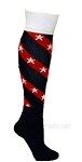 Pearsox Tornado Star Custom Tube Socks  (PCTSTAR)