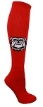 Pearsox Custom Knee High Bulldog Sock (330BD)