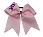 Pizzazz Breast Cancer Ribbon Bow