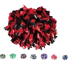 Pizzazz 2-Color Plastic Pom Poms