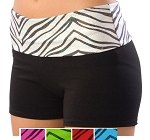 Pizzazz Roll Down Waist Shorts