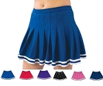 Pizzazz Pleated Uniform Skirt