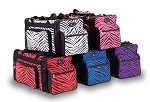 Pizzazz Zebra Print Multi Sport Travel Bag
