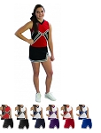 Pizzazz Spirit Uniform Shell and A-Line Uniform Skirt