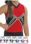 Pizzazz Spirit Cheerleading Uniform Shell