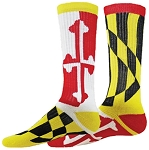 Red Lion Flag Crew Socks