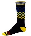 Red Lion Multi-Checks Crew Socks-CLOSEOUT