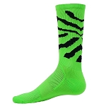 Red Lion Copy Cat Zebra Crew Socks