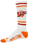 Red Lion Crazy Clown Lacrosse Stick Crew Socks