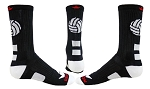 Red Lion Dig Crew Volleyball Socks
