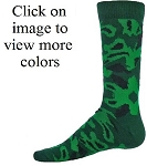 Red Lion Hide Camo Crew Socks-CLOSEOUT