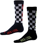 Closeout Red Lion Lacrosse Checks Crew Socks
