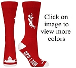 Red Lion Big Lacrosse Solid Crew Socks