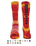 Red Lion Tie Dyed Maxim Crew Socks