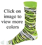 Red Lion Tie Dyed Tiger Crew Socks -CLOSEOUT
